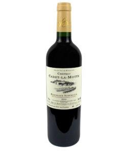 Chateau Cadet La Motte 2012 vin de Bordeaux