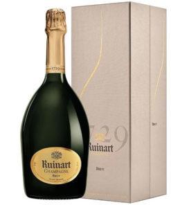 champagne Ruinart brut avec coffret