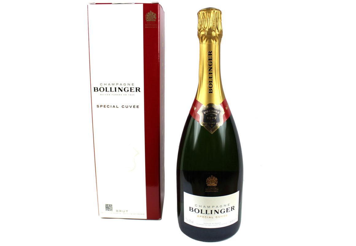 champagne Bollinger cuvée spéciale