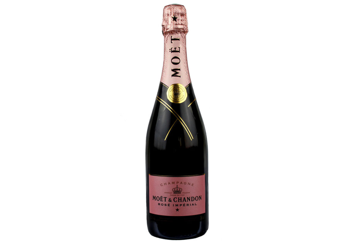 champagne Moet & Chandon imperial rosé